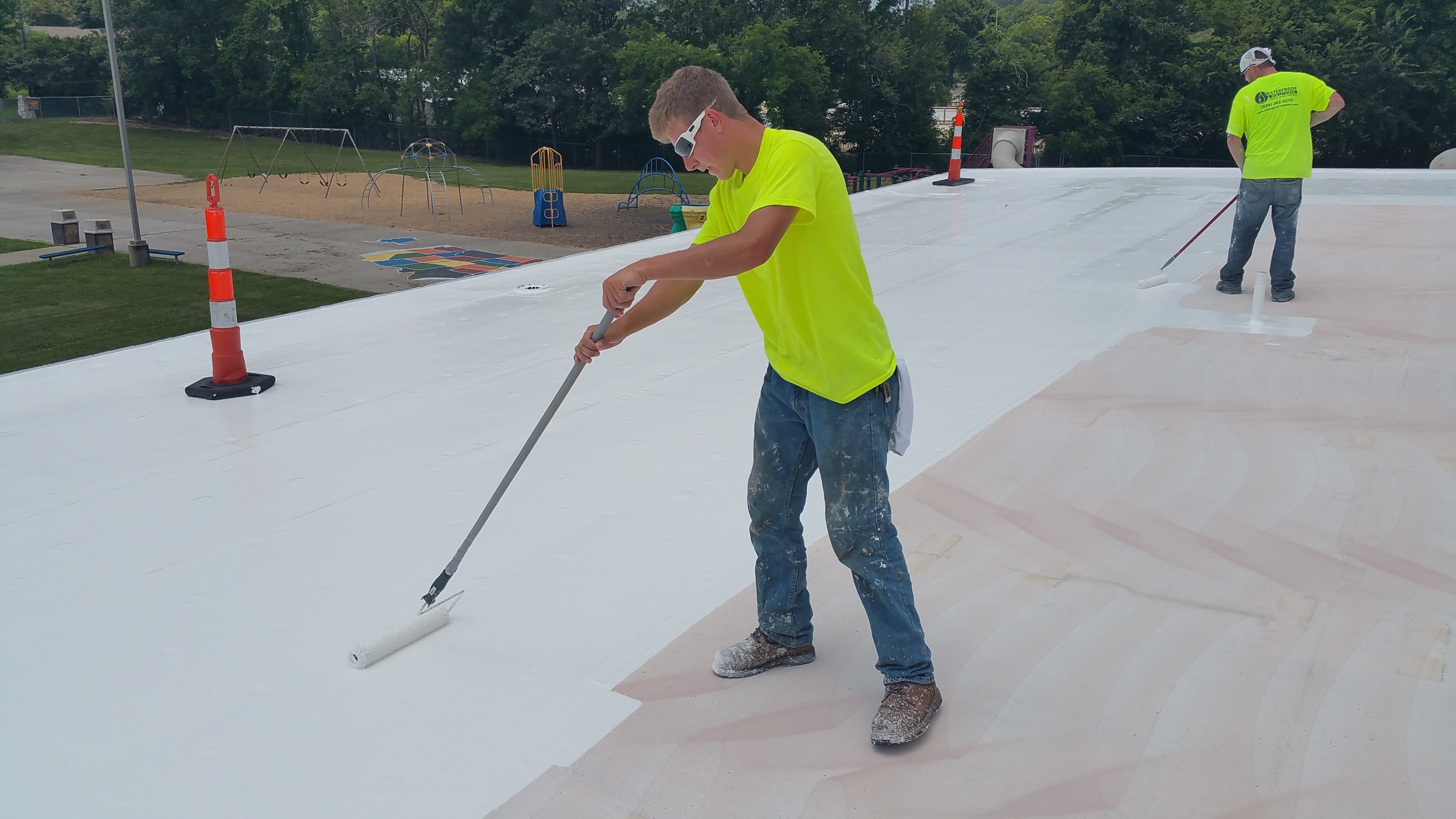 flat roof repair and restoration by wps
