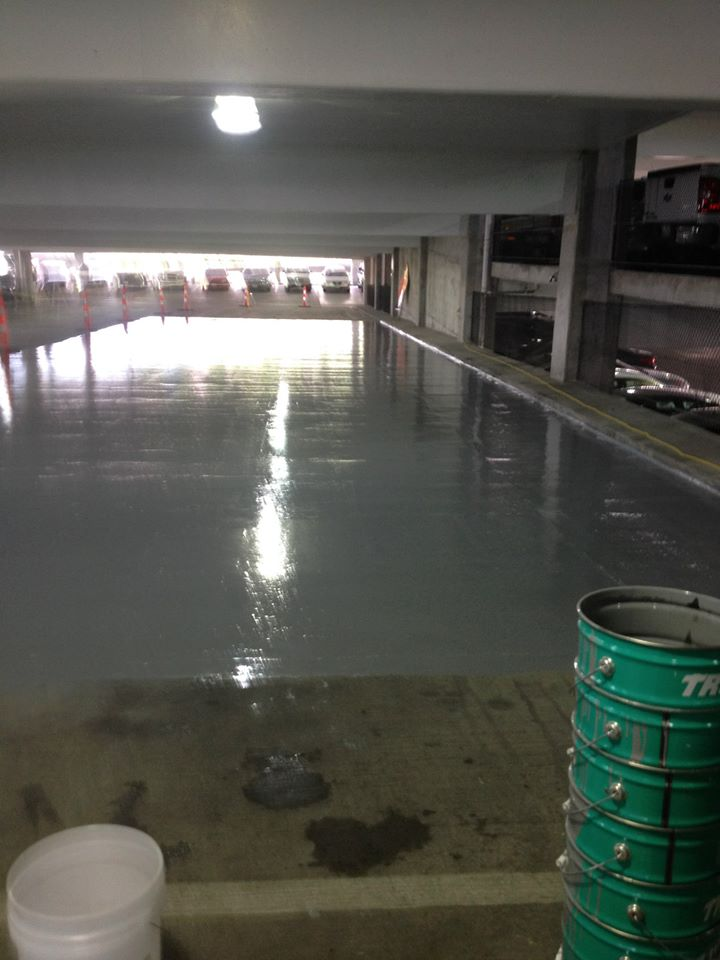 parking deck coating