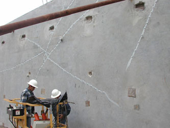 epoxy crack injections st louis and commercial construction